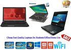 Cheap Fast Windows 10 Laptop I5 I3 Core 2 Duo 128gb Ssd 4gb Ram Wifi Warranty