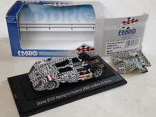 EBBRO 1/43 Dome S101 Judd V10 Racing For Holland LM 2002 Lammers Coronel OVP 447
