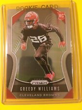 🔥🔥2019 PRIZM GREEDY WILLIAMS ROOKIE Base RC #315 Cleveland Browns