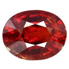 TOP SPESSARTINE : 3,41 Ct Natürlicher Roter Spessartin / Spessartit Granat