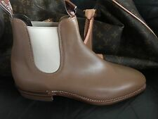 RM Williams Womens Leather Boots-ADELAIDE Yearling Natural-Size 91/2E New in box