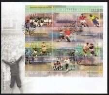 Norway 2002 Fdc Ms Centenary Of Norwegian Football Association