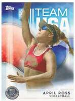 2016 Topps US Olympic Team USA Silver #16 April Ross  Volleyball