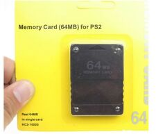 PS2 Memory Card 64MB Genuine Sony PlayStation 2