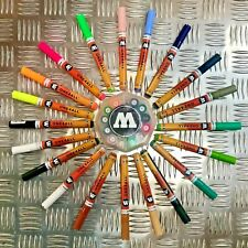 Molotow One4All 127 HS Acrylic Marker - Main Set 2 - 20 Markers with User Guide