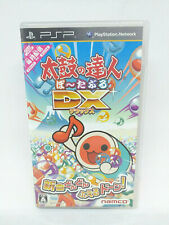 Sony PLAYSTATION Psp Portable Taiko Doesn'T Tatsujin Portable Dx Namco Japan See