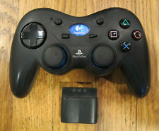 Logitech Playstation 2 Wireless Controller & Receiver Dongle PS2 - Tested