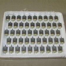 MABUCHI MOTORS FA-130RA  2270 - (50) SMALL DC MOTORS LOT - 1.5-3.0V 9100RPM NEW*