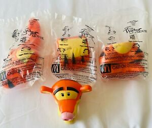 BUILD A TIGGER McDonalds Happy Meal Toy 2000 Promotional FREE POST A2