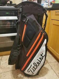 2019 Titleist Hybrid 5 Golf Stand Bag, 5-Way full legnth, rainhood, very good