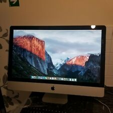 Apple iMac 27Inch (Mid-2011) 3.4 GHz Core i7 (I7-2600) 16GB RAM 2TB HDD iMac12.2