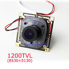 CCTV 1200TVL CMOS Home Security Camera Board Module IR CUT Filter 2.8MM Lens
