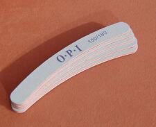 5 Gebogene Feilen OPI Nagelfeile silber Körnung 100/180