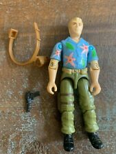 GI Joe Chuckles Undercover 1987 Vintage Figure Complete W/ Belt And Weapon