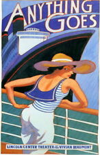 70224 Anything Goes stage play Patti LuPone Howard Wall Print POSTER UK