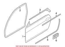 For BMW Genuine Door Seal Left 51767054027