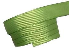 "5 yards Lime green 5/8"" grosgrain ribbon by the yard DIY hair bows"