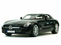 MB Mercedes Benz SLS AMG - black - Maisto 1:18