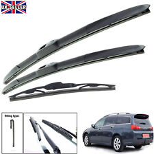 "Honda Accord 2003-2008 hybrid wiper blades set of front & rear 26""16""12"""