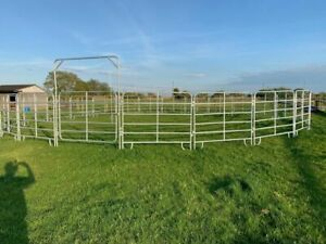 50' ranch style round pen, horse lunge, excersise ,turnout ring