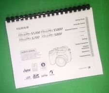 LASER PRINTED Fujifilm FinePix S5700 S5800 Instruction Manual Guide 180 Pages