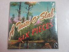 RAGING SLAB A TASTE O' SLAB SIX PIECES PROMO CD SEALED SOUTHERN STONER ROCK OOP