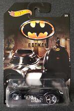 Hot Wheels Batmobile #2/6 [Black & Silver] Batman Series Diecast Car