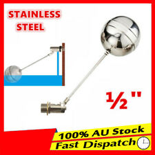½'' BSP FLOAT VALVE  STAINLESS STEEL AUTOMATIC WATER TROUGH CATTLE BOWL TANK