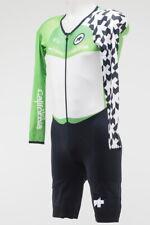 New! Assos Tour of California LS Men's Skinsuit Green Sprinters Leader XL