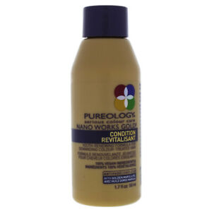 Nano Works Gold Conditioner by Pureology for Unisex - 1.7 oz Conditioner