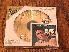 ELVIS IS BACK DCC 24 KARAT GOLD CD ~ STILL FACTORY SEALED