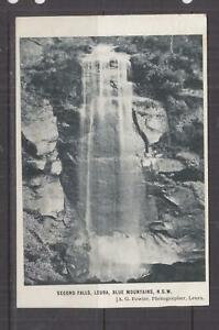 NEW SOUTH WALES, LEURA, SECOND FALLS, 1906 ppc., 1d. LEURA to Surry Hills.