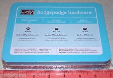 Embellishment Hardware Hodgepodge Kit Style Silver New Sealed 200 pc Stampin Up