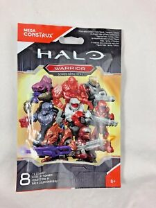 Mega Construx - Halo - Warrior Series - Blind Bag - Figure - New - Sealed
