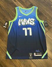 Nike Dallas Mavs Luka Doncic City Edition Swingman Jersey 100% Authentic RARE