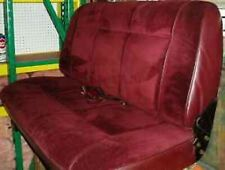 RED REAR SEAT from 1989 DODGE Ram Charger fits 83-93, in Good Condition