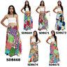 Skirt SDB668x Thailand Cotton Patchwork Long Sun Wrap Sarong Boho Gypsy Hippie