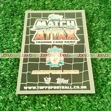 11/12 EXTRA CAPTAIN STAR SIGNING CARD MATCH ATTAX 2011 2012