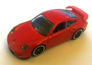 Hotwheels Porsche 911 GT3 RS 2015 Red Plain Original  *** VERY RARE ***