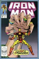 Iron Man #241 (1989, Marvel) Mandarin -j