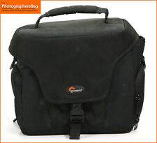 Lowepro Nero Altus 160 Videocamera/Fotocamera Borsa Custodia/+ GRATIS UK