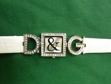 D & G LADIES WATCH LEATHER STRAP