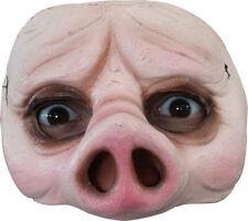 Morris Costumes Latex Half Pig Mask. TA492