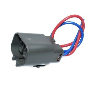 Alternator Repair Plug Harness 2 Pin Pigtail Connector For Nissan D21 Pickup 2.4