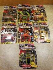 NEW Hasbro transformers RPMs Vehicle Action Figure lot of 7