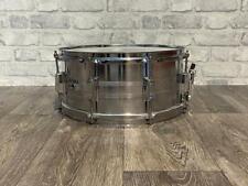 "TAMA Swingstar 80's 14"" x 6.5"" Steel Shell 8 Lug Snare Drum #SN1002"
