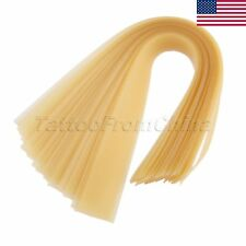 US STOCK Natural Latex Rubber Band For Slingshot Catapult Replacement YELLOW 20X