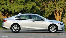 STRIDE Vinyl Graphics Side Door Body Line Accent Stripe Decal for Chevy Malibu