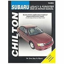 2000-2009 Subaru Legacy & Forester Chilton Repair Service Workshop Manual 0220