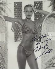CHERYL LADD HAND SIGNED 8x10 PHOTO+COA       WET+SEXY BIKINI BODY      TO JOHN